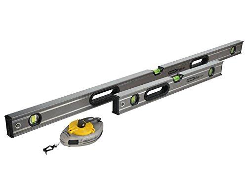 60cm 2ft Spirit Beam//Box Builder Brick Level STANLEY FatMax TWIN SET 120cm 4ft