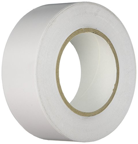 Heskins FLOOR2W - Cinta adhesiva blanca para marcar suelos de tapelina, 22,5 cm de largo, 5 cm de ancho