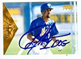 Autograph Warehouse 53494 Lance Johnson Autographed Baseball Card New York Mets 1996 Pinnacle No .352