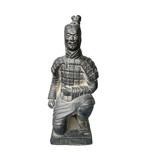 Statue Archer (Tongma Terracotta Warriors, Ancient China Dynasty Qin Terracotta Warriors Statues Collectible Figurines Home Display Table Display Gift Multi Presentation (Kneeling Archer))