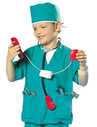 THEE Child's Halloween Doctor Dress up Surgeon Costume -