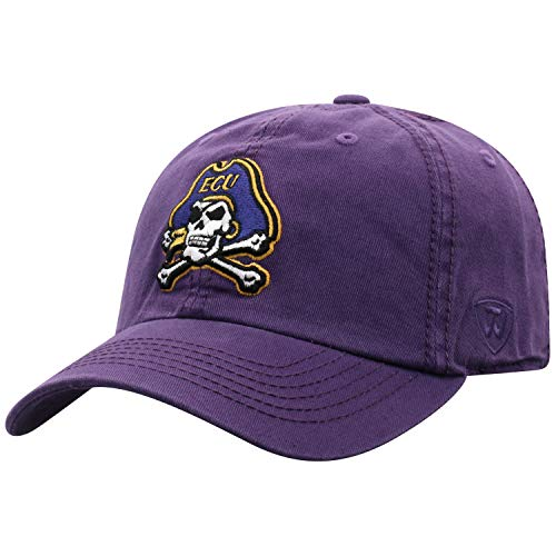 - Top of the World East Carolina Pirates Men's Hat Icon, Purple, Adjustable