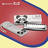 Focusound Panda Harmonica for Kids, Diatonic Key of C, Smooth Rounded Edges