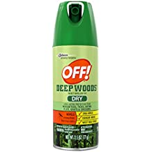 OFF! 46500731754 Deep Woods Insect Repellent VIII Dry 2.5 oz