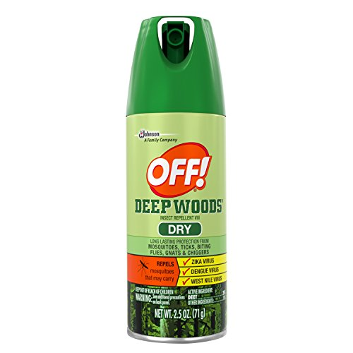 OFF! Deep Woods Dry Aerosol, 2.5 Ounce by OFF!