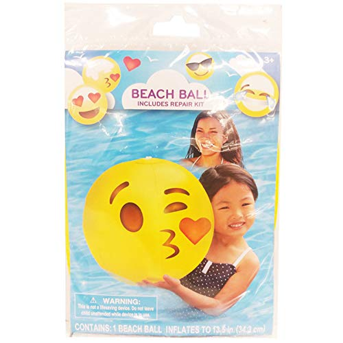 (Pack of 36) Beach Ball Emoji Asstorted Party Flavor by Unknown (Image #1)