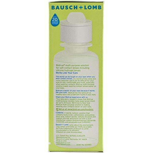 Bausch + Lomb Biotrue Multi-purpose contact lens solution, 2 Fluid Ounce