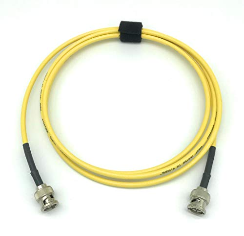 25ft AV-Cables 3G HD SDI Mini RG59 Cable, BNC-BNC Gepco VDM230 Cable- Yellow