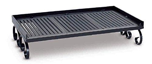 Kaminrost Stahl und Gusseisen 52x 31x 12cm