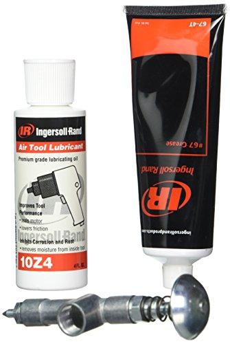 - Ingersoll Rand 67-LBK1 Air Care Kit, 67 Grease, 10 Oil, & Grease Gun