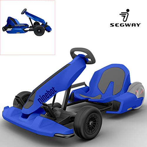 Segway Electric GoKart Kit Fitting for Ninebot S miniPRO Transporter ( Self Balancing Scooter Excluded ), Big Racing Ride on Car Toy for Kids and Adults, Custom Painted Princess Blue]()