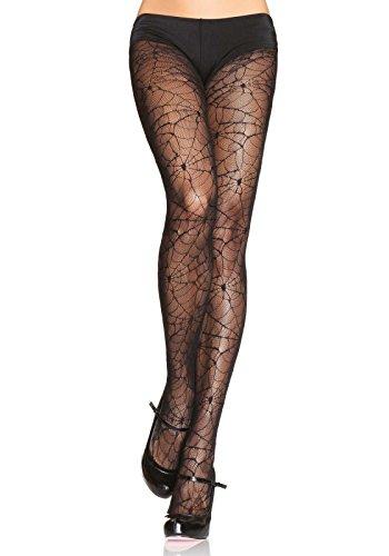 Leg Avenue Womens Lace Spiderweb Tights