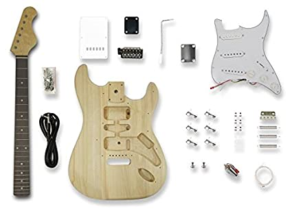 amazon com diy electric guitar kits for stratcaster electric guitar rh amazon com