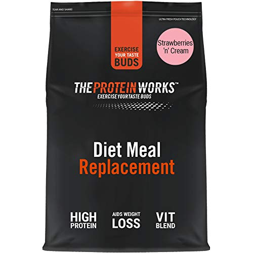 THE PROTEIN WORKS Diet Meal Replacement Shake   Nutrient Dense Complete Meal   Immunity Boosting Vitamins, Affortable…
