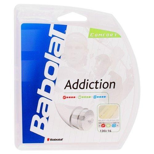 BABOLAT Addiction 16–Gauge Tennis Perizoma (Natural) by Babolat