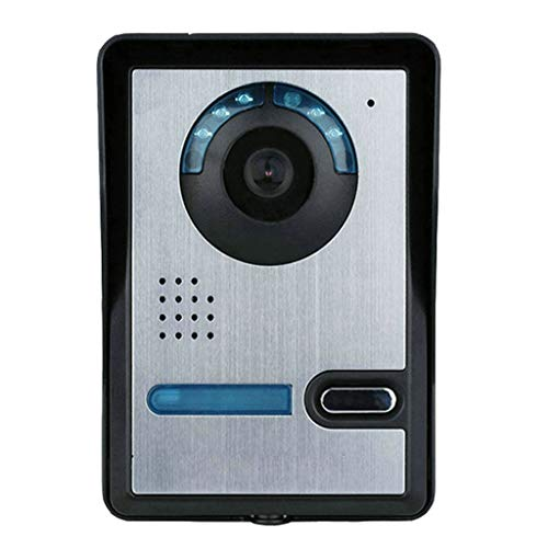 WIFI Smart Doorbell, Mobile Phone Remote Unlocking Smart Home Engineering Villa Doorbell Video Intercom Remote ()