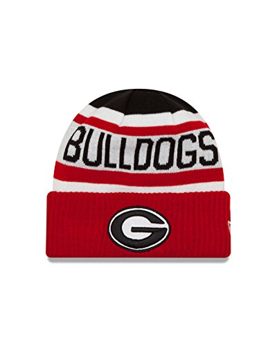 Georgia Bulldogs Apparel (NCAA Georgia Bulldogs Biggest Fan 2.0 Cuff Knit Beanie, Red, One Size)