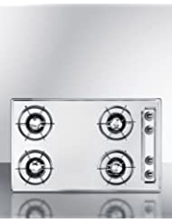Summit ZNL05P Gas Cooktops, White