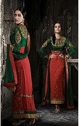 Khoobsurat Multi Color Party Kurta & Churidar Set For Women