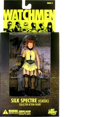 Watchmen Series 2 > Silk Spectre (Classic Version) Action (Watchmen Characters Costumes)
