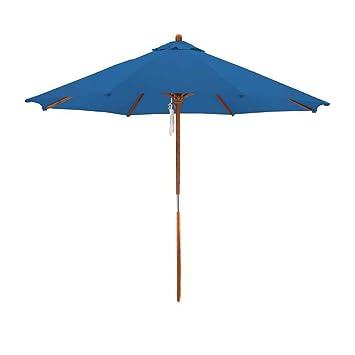 Superb Deluxe Market Umbrella In Blue