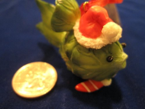 Home Grown Brussel Sprout Fish Ornament