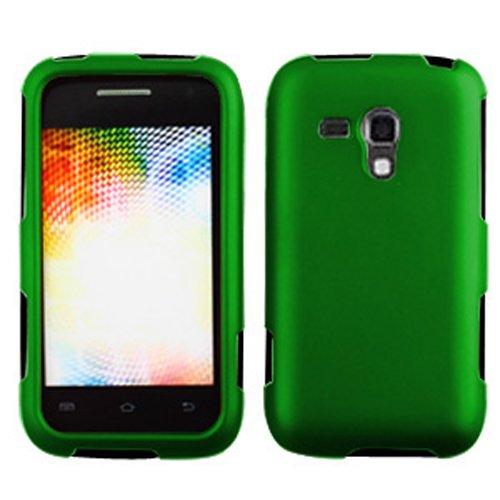LF 4 in 1 Bundle Accessory - Hard Case Cover, Lf Stylus Pen, Lf Screen Protector & Wiper for (Boost Mobil) Samsung Galaxy Rush M830 (Hard -