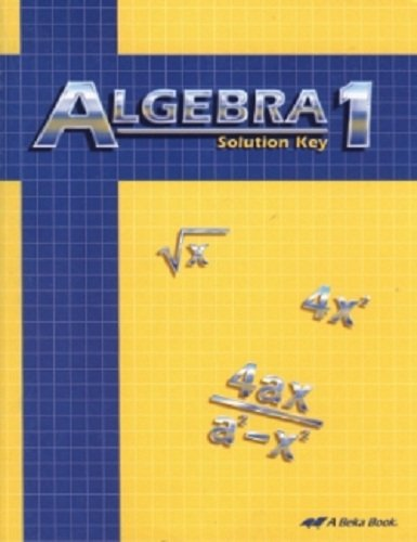 Algebra 1 Solution Key for sale  Delivered anywhere in USA
