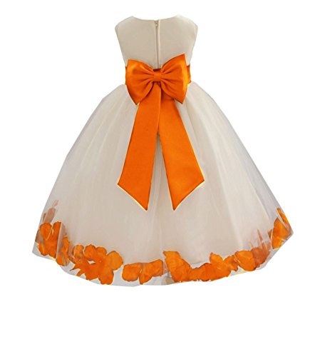 orange wedding dresses - 8
