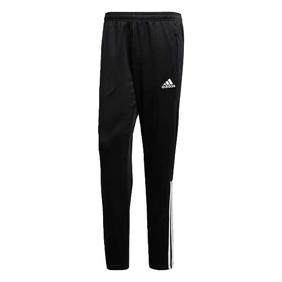 17b980feae75 Amazon.com  Adidas Regi 18 Track Pants Mens ClimaCool Sports trousers Pants  Black  Sports   Outdoors