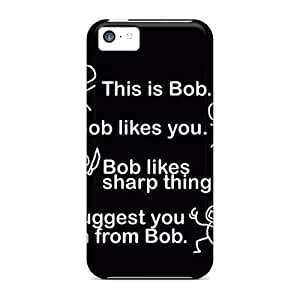Cute Appearance Cover/tpu Ynxikbk6825bTHod Bob Case For Iphone 5c