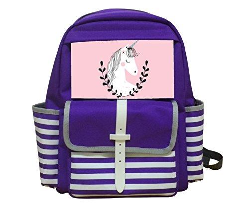 Kiday Unicorn Girl Kids Bag Backpack Unisex School