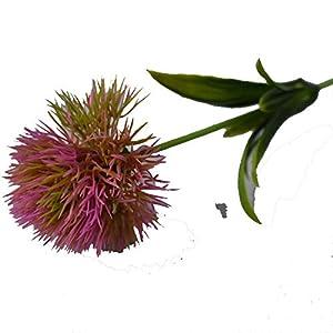 Artificial Flowers Dandelion Decoracao Plastic Flower Wedding Home Decoration Valentine's Day Length 25Cm Pink 69