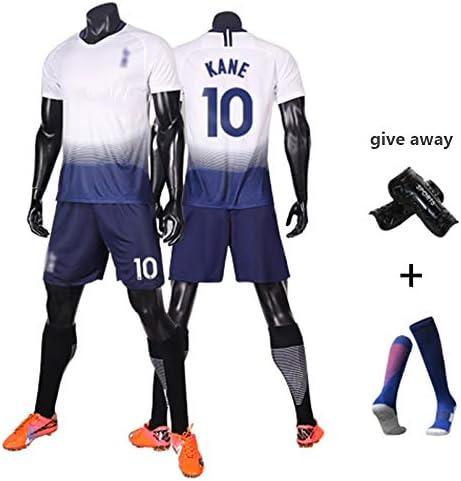 イギリスのワールドカップサッカーユニフォームイングランド欧州チャンピオンズカップユニフォーム10#ケインスターマンはスーツジャージー100%ポリエステル繊維の吸汗/通気性/速乾性の快適なスポーツTシャツ (Color : B, Size : S)