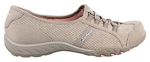 Skechers Breathe-easy allure - Zapatillas Mujer TAUPE MEDIUM