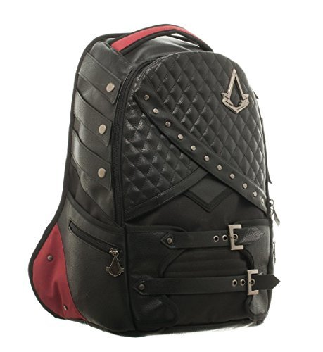 Assassin's Creed Syndicate Deluxe Suit Up Laptop Backpack PU Leather Licensed -