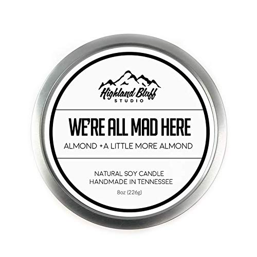 Highland Bluff Studio - Scented Soy Tin Candle - We