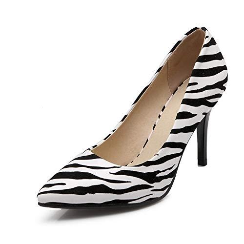 White QOIQNLSN Summer Stiletto Heels Polyurethane Comfort amp; Shoes Women'S Pu Red Heel Black Spring White UrYU6S