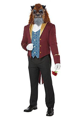 BESTPR1CE Mens Halloween Costume- Storybook Beast Adult Costume Large