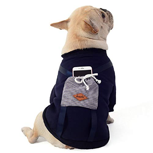 Dora Bridal Dog Hoodies, Hoodie for Dogs Dog Apparel with Hat for Cold Weather, Cat Coat Cloth Warm Classic Green Soft Vest Hoodies, Puppy Warm Winter Coats for Cats Small ()