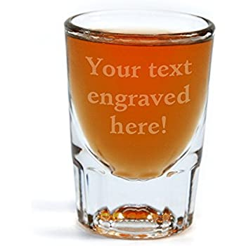 personalized shot glass engraved with your custom text - Custom Shot Glass