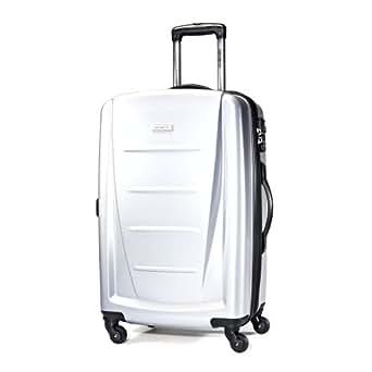 Samsonite Luggage Winfield 2 Light Spinner Bag, Silver, 24 Inch