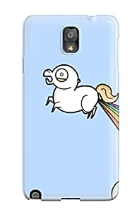 Awesome Design Rainbow Fart Hard Case Cover For Galaxy Note 3