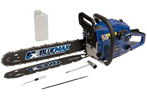"Blue Max Refurb 14""&20"" Combo Chainsaw"