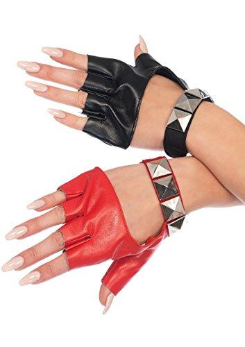 Leg Avenue Harley Studded Fingerless Gloves