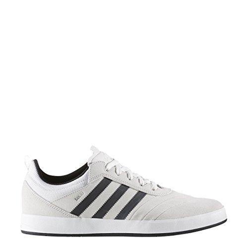 Adidas suciu avanzata (cristallo bianco / nero / argento metallico) uomini pattinare