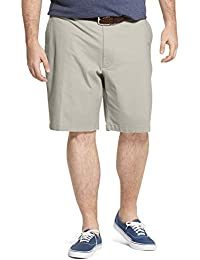 "Men's Big and Tall Saltwater 9.5"" Flat Front Chino Short"
