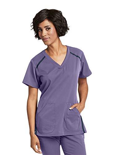 Grey's Anatomy Impact 7188 Women's Elevate Scrub Top Iris Glaze M