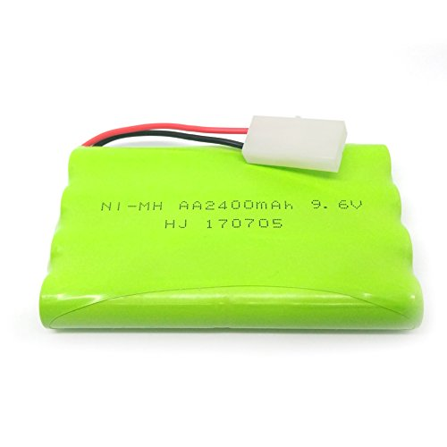 Ni-MH Rechargeable AA Battery Pack KET 2P Plug for Remote Control Toys, Lighting, Security Facilities, Electric Tools, etc ()