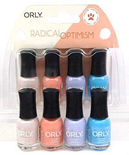 画家容量アニメーションOrly Nail Lacquer - Radical Optimism 2019 Collection - Mini 4 Pack - 5.3mL / 0.18oz